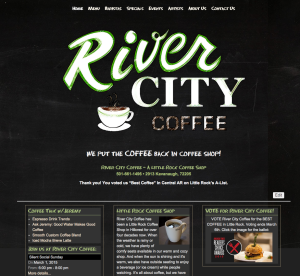 River City Coffee Website